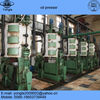 Complete oil production line for sunflower and cottonseed oil press