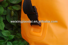 Factory plastic 10L dry bag orange tpu outdoor backpack water bag water resistant bag wet swimming bag