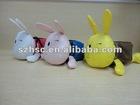 foldable reusable environmental rabbit nylon shopping bag