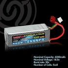 li-po battery18.5V 4200mAh 50C for rc car