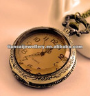 Free ship!!! 30pcs/lot big Brass Necklace Classic Pocket Watch necklace No.43
