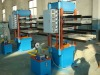 Rubber tile making machine