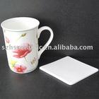 porcelain cup coaster
