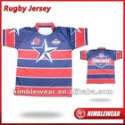 Anti-friction Rugby Wear Shirts Rugby Jersey Nimblewear New Design Hot Sell