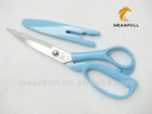 bend curved handle tailor sewing with sheath fabric cutting scissors