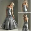 2013 Best Selling Long Mermaid Elegant Silver Formal Evening Dresses