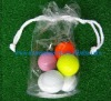 Printing transparent PVC golf ball bag