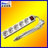 ST-PS04# EU standard multiple safety power socket connector plugs
