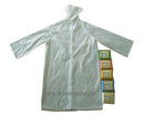 Unisex adult 100% waterproof PE raincoat (RC-8018)