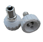 Lamp Bulb Adapter Converter LED GU10 to E14, adapter and bulb base