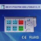 HOTO intelligent and energy saving socket 6 way