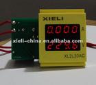 Digital voltage meter for outlet