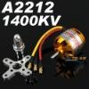 RC Outrunner Brushless Motor 2212-10 1400KV