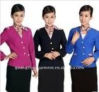 latest hotel waiter uniform garment 2011