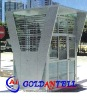 Low cost security guard house steel sentry box & sentry box house & prefabricated steel house