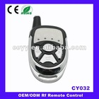 433mhz Four Buttons Garage Door Remote Control,315mhz Universal Gate Opener Remote Control CY032