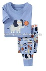 kids sleepwear/pajamas- elephant graphic pattern