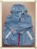 kids spring coat with pattern