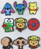 cute casper fridge magnetic animal pad, monkey, bear