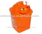 kitty style Dust Bin,pretty plastic dust bin
