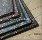 Outdoor safety sports rubber flooring mats/sheets/tiles