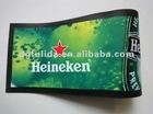 Customized non-woven cloth+natural rubber bar mat