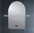 illuminated Arched top LED mirror