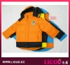 kids down jacket with romovable hood