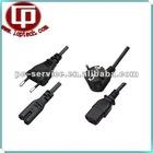 European standard laptop ac power cords /European power extension cord