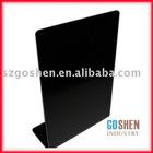 Black acrylic holder