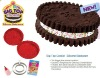 2012 Silicone colorful cake molding Bakeware with 3D ,FDA