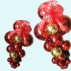 plastic Christmas grape store decoration