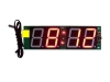 1.5 inch 4 digit bus digital clock with temperature and date display