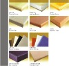 wooden perforated fireproof acoustic panel