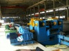 H-beam flange straightening machine