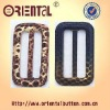 46mm snake imitation leather belt buckle