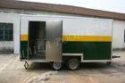 Mobile fast food carts