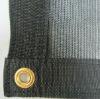 black 6-needles plastic shade net