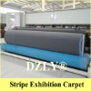 Ribbed Carpet for exhibition