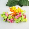 Promotion polyester Colorful curly ribbon bows for baby Hair Accessories