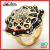 R5255 Jingmei Jewelry Gold Wholesale Stacking Ring