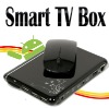 unique moulds 1GB RAM,4GB Flash memory android 4.0 tv box with samba DLNA youtube AC3 root access skype video call CVBS output