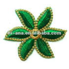 size:7x7cm.garmet's embroidery patches with stick on base supplier
