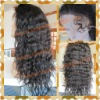 Loose wave 100% indian remy hair full lace wig