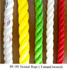 Superior Strong Various Colored Twisted PE / PP Rope