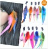 Feather Hair clip in Extension /hair clip /Feather Hair/Hair Extension