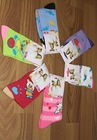 Sweet Girl Comic Picture Printed Kids Colorful Sock (Send By Random) HD12022706