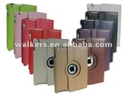 New smart cover case for apple ipad 3 360 rotating degree