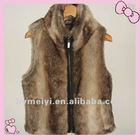warm fur plush vest