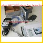 LINKSYS PAP2T VOIP Gateway 2 fxs